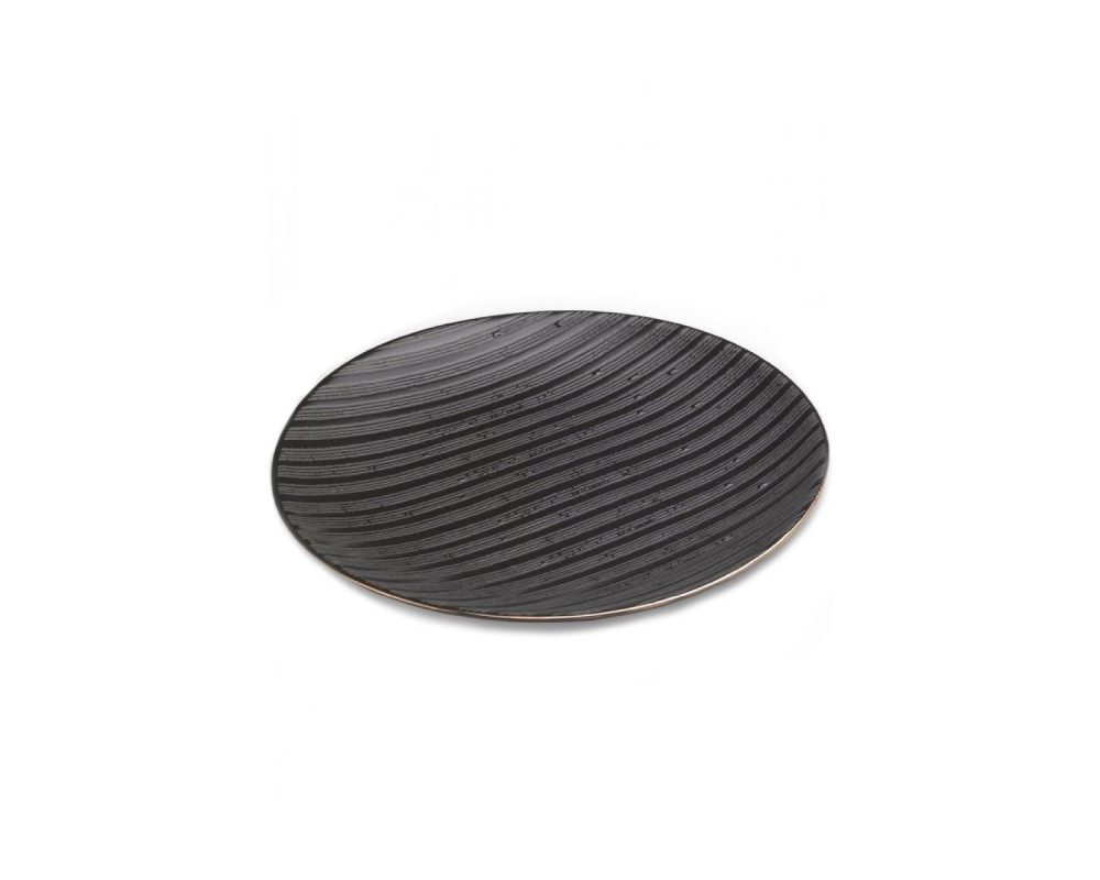 "Тарелка десертная ""Black stone"", 21.5см."