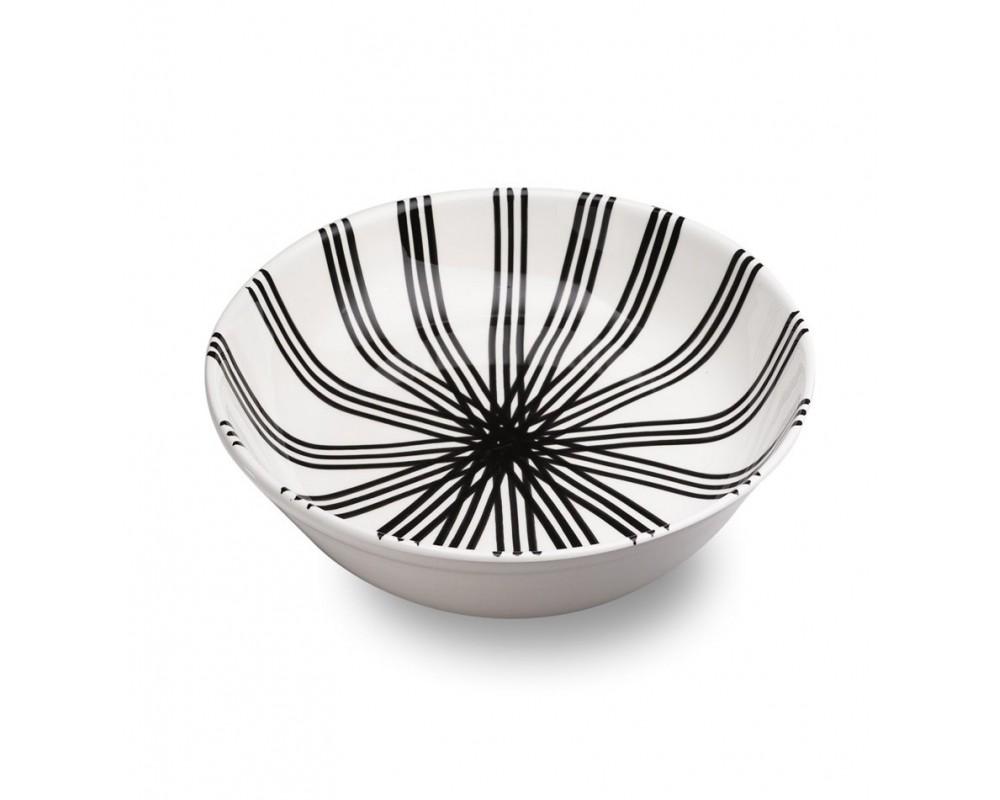 "Салатник/Чаша ""Dalmata_wheel pattern"""