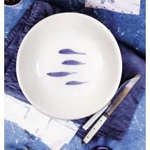 "Салатник/Чаша ""Mannaggia li pescetti_fish pattern"", 30см."