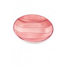"Тарелка десертная ""Striche"", розовый"
