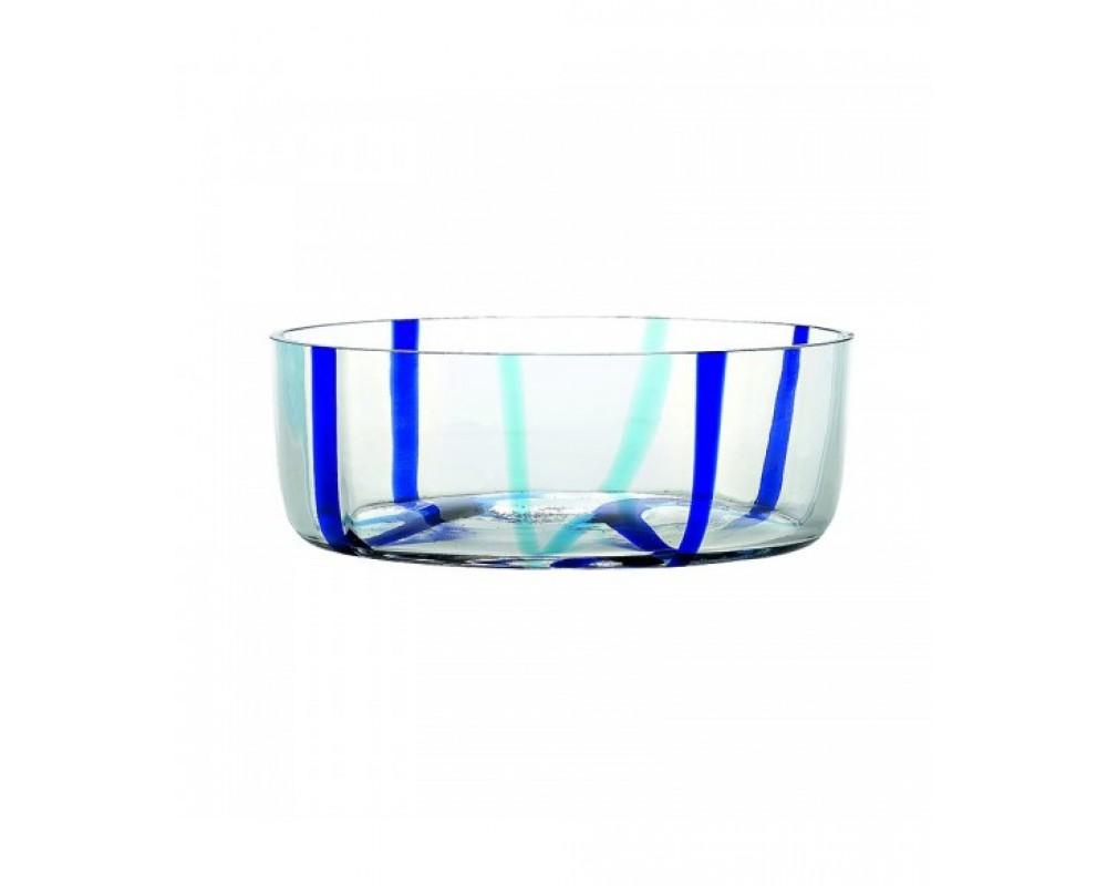 "Салатник ""Tirache"", аквамарин-синий"