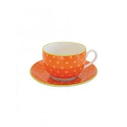 "Чайная пара ""Tue cups_ Orange"""