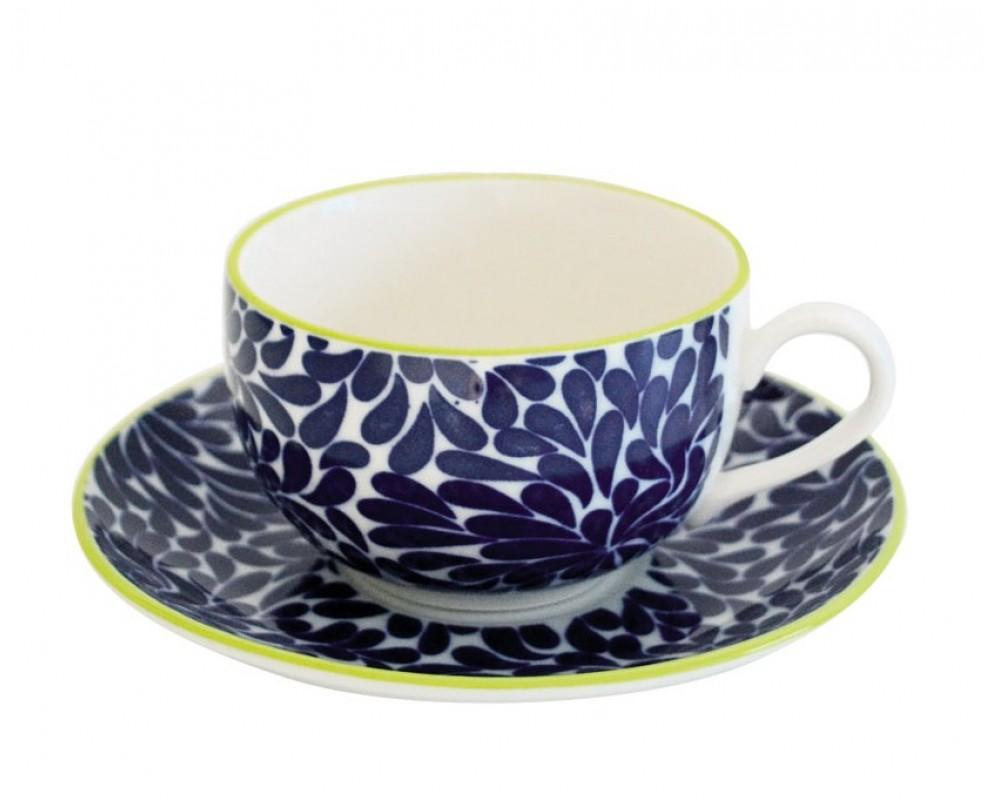 """Чайная пара """"Tue_Blue"""", 270мл."""