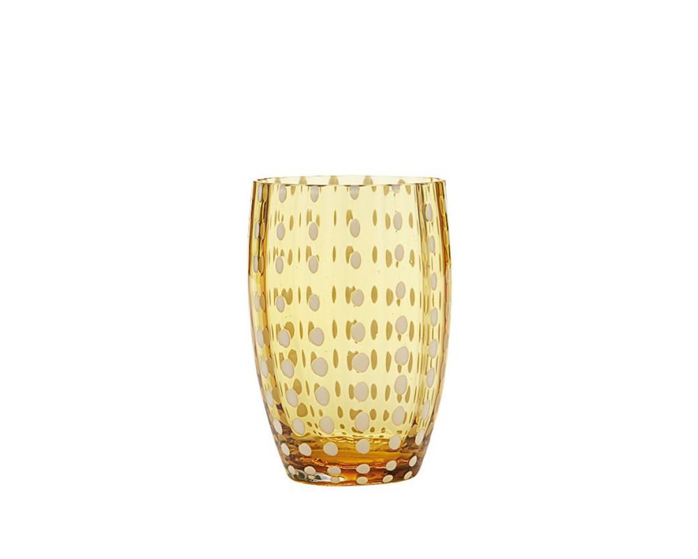 """Бокал для сока/воды """"Perle"""", amber"""