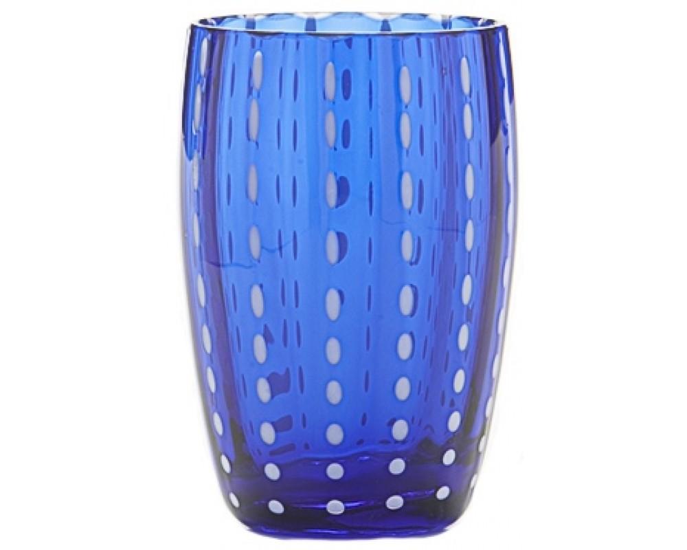 """Бокал для воды/сока """"Perle"""", blue"""