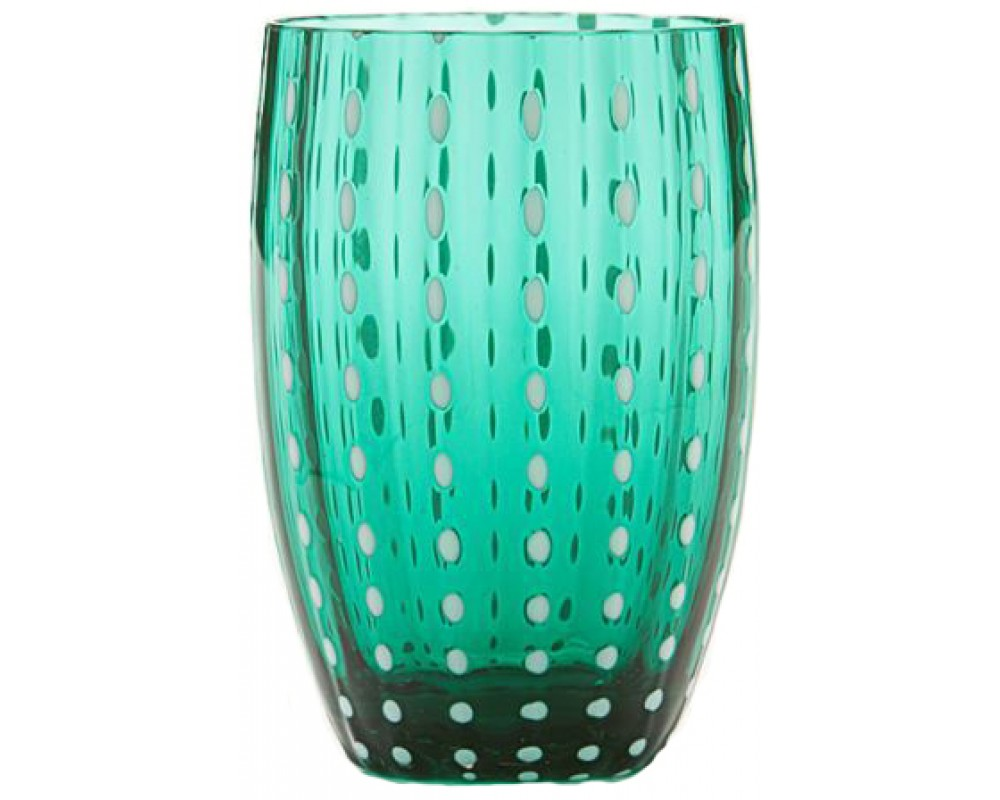 "Бокал для воды/сока ""Perle"", green"