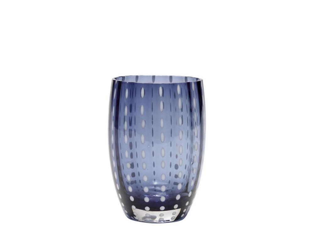 """Бокал для сока/воды """"Perle"""", grey blue"""