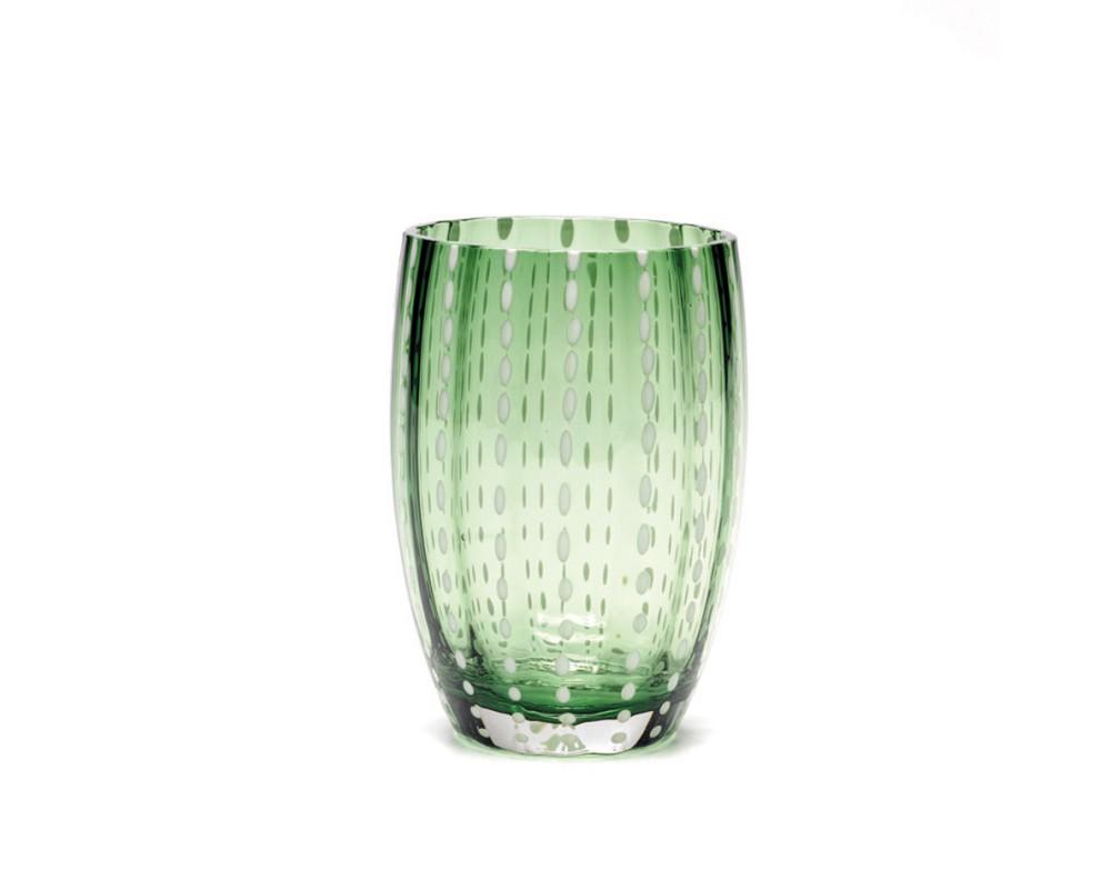 """Бокал для сока/воды """"Perle"""", british green"""