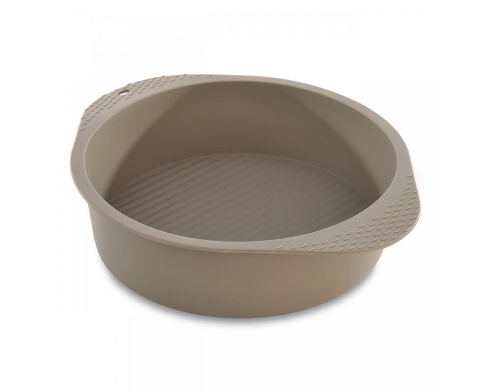 Форма для запекания силиконовая круглая 27,5*22,5*6,5см Studio