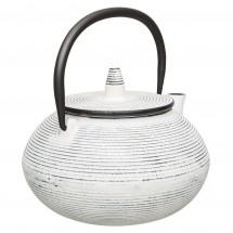 Чайник заварочный чугунный (белый) 0,75л Studio