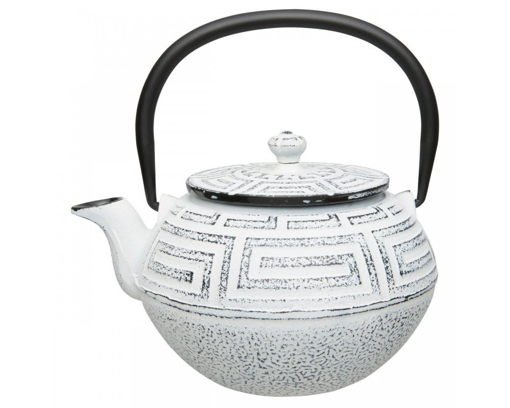 Чайник заварочный чугунный (белый) 0,65л Studio