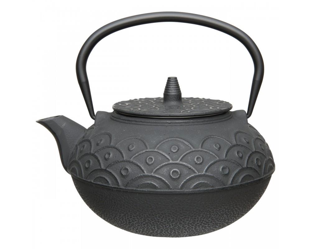 Чайник заварочный чугунный (чёрный) 1,4л Studio