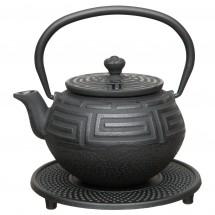 Чайный набор чугунный (чёрный) 0,35л Studio