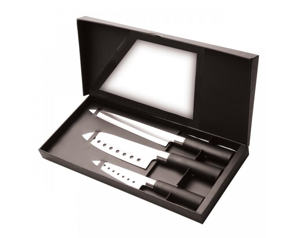 """Набор ножей """"CooknCo"""", 3предмета"""