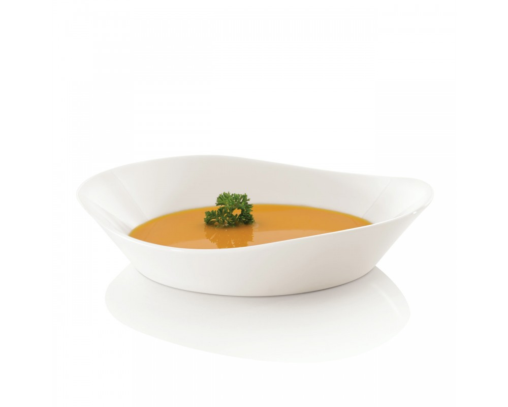 Набор 4пр тарелок для супа 20см Eclipse