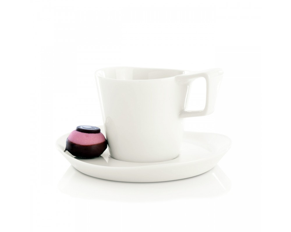 Набор 2шт чашек для кофе с блюдцем 0,18л Eclipse