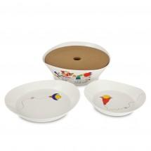 Набор 2пр тарелок для пасты 24см Eclipse ornament