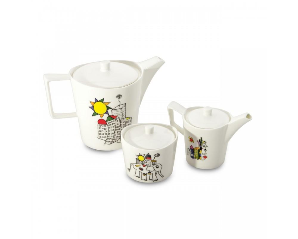 Набор сервировочный для чая/кофе 6пр Eclipse ornament