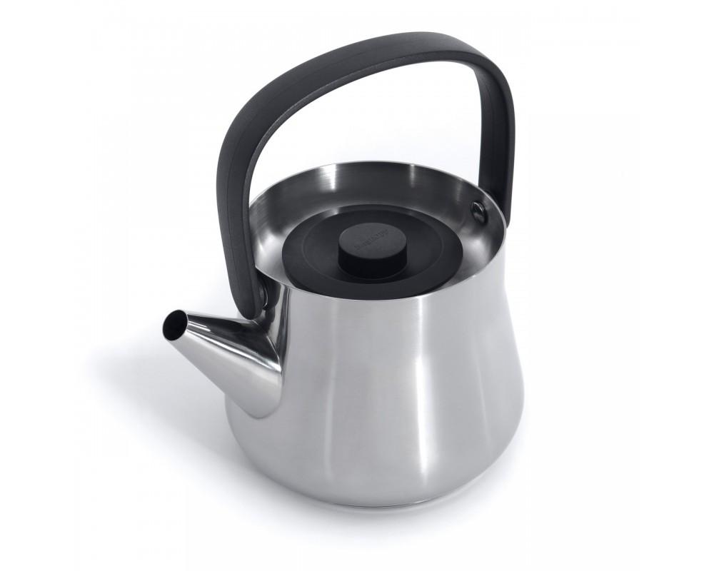 Чайник 2в1 для плиты и заварочный 1л (металл) Ron