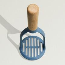 Пресс для картофеля 8,5*23,5см Leo (деревянная ручка)
